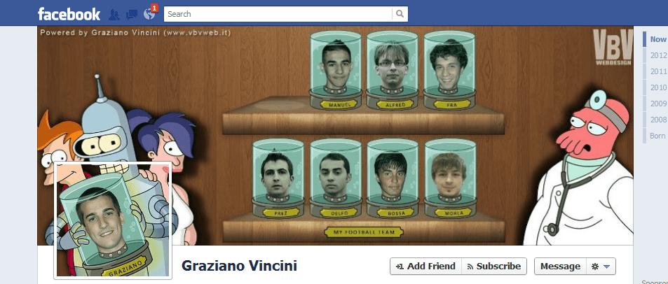 Graziano Vincini facebook cover photo