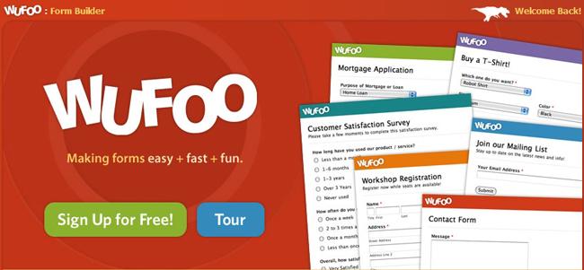 Wufoo Forms & Surveys