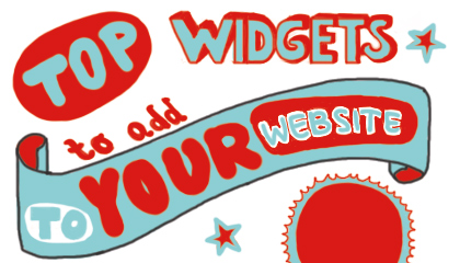 Top Widgets to Add to Your Website