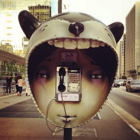 Creative Phone Booth Design
