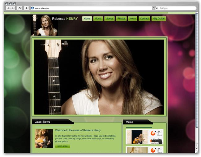 Showcase of Amazing Music Websites