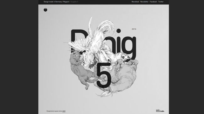 Showcase of Spectacular Dark Websites
