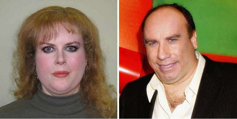 Nicole Kidman and John Travolta