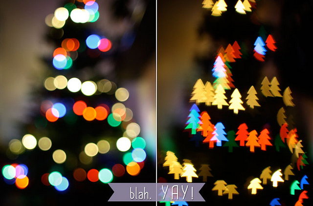 Roundup of Most Amazing Photography DIY's on the Web‬ - Cool Bokeh Filters