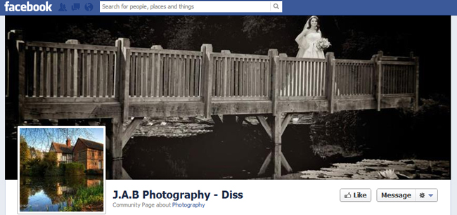 Facebook Cover By J.A.B. Photography - Diss