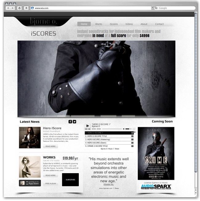 Bjarne O Designed by filmmusic