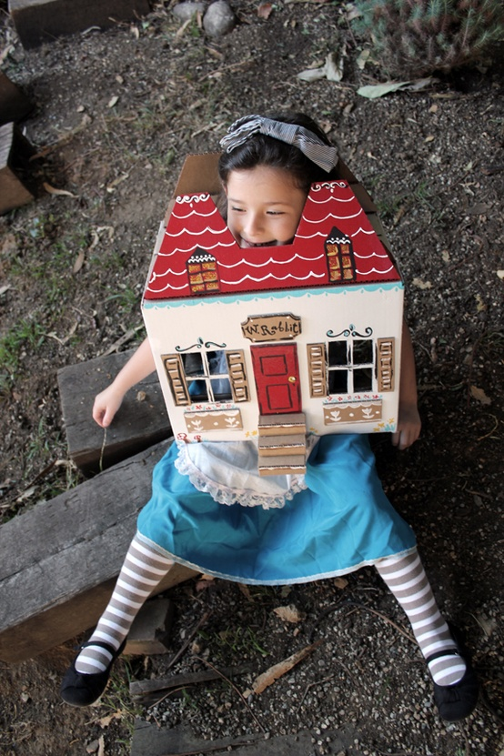 DIY Alice in wonderland