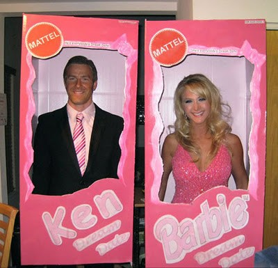 Ken and Barbie Couples Costumes
