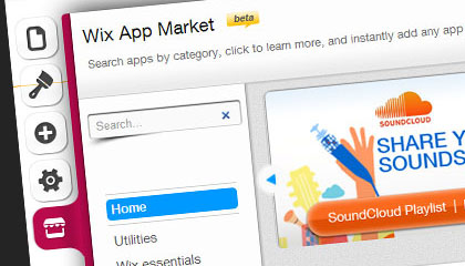the new app market makes your site that much better