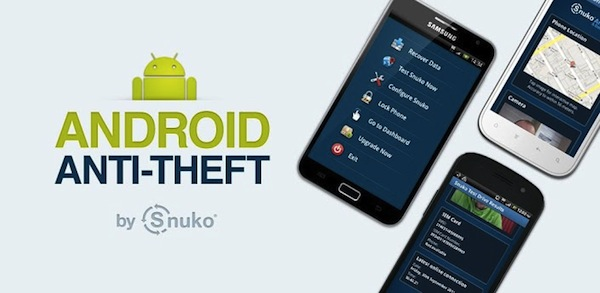 Anti-theft apps