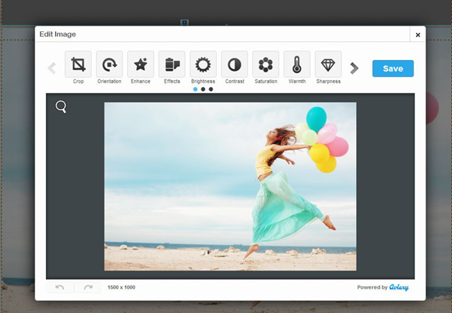 Wix's New Image Editor