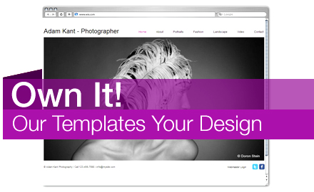 Own It! Our Template Your Web Design