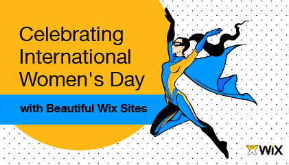 Great Wix Websites for International Women's Day