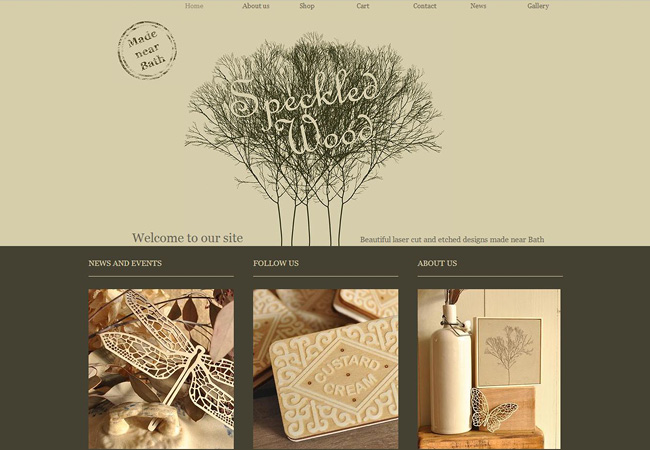 Beautiful Arts and Crafts Websites