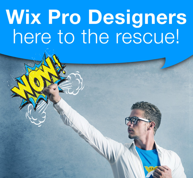 Get Your Site Created by a Wix Professional Designer