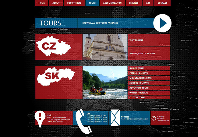 Wix Websites with Unique Navigation