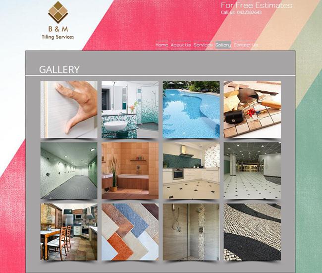 B&M Tiling Services