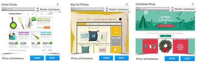 Wix Templates for Online Shop