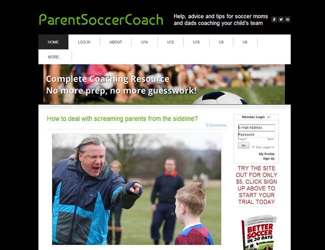 Parent Soccer Coach