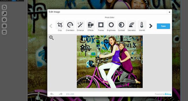 Wix Image Editor