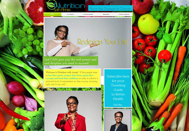 Nutrition with Annie Mgipson