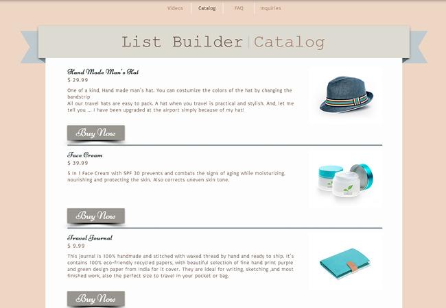 list builder4