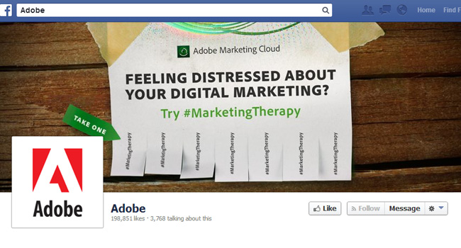 Adobe Facebook Cover Photo