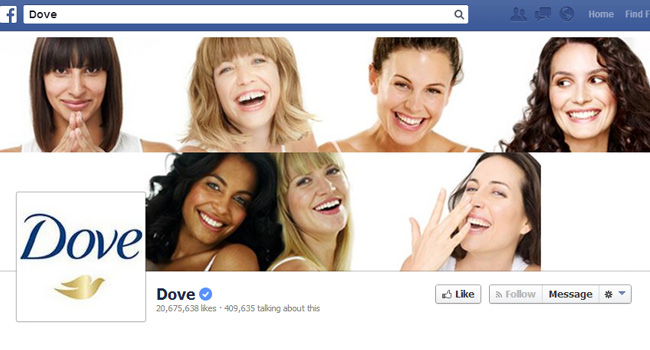 Dove Facebook Cover Photo