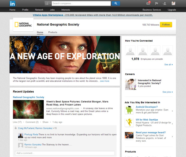 National Geographic on LinkedIn
