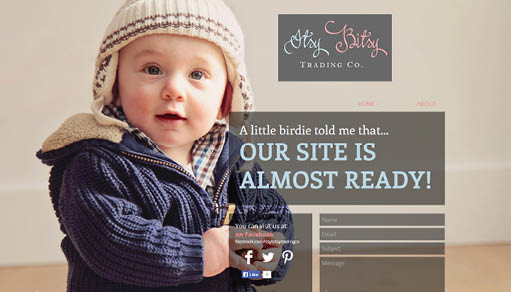 Coming Soon Websites – Showcase