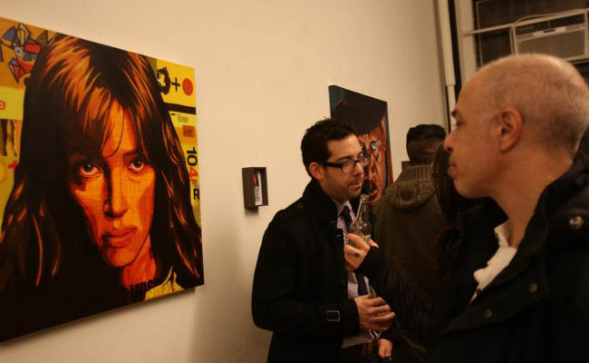 Borbay's 'Kickass Actors' Art Exhibition at the Wix Lounge