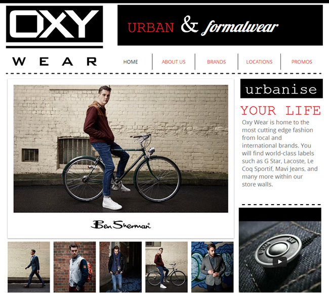 See How Oxy Wear Add Information and images but Still keep it clean
