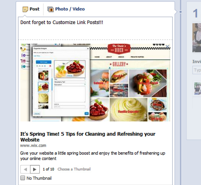 Customize Link Posts