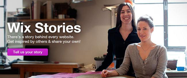 Wix Stories
