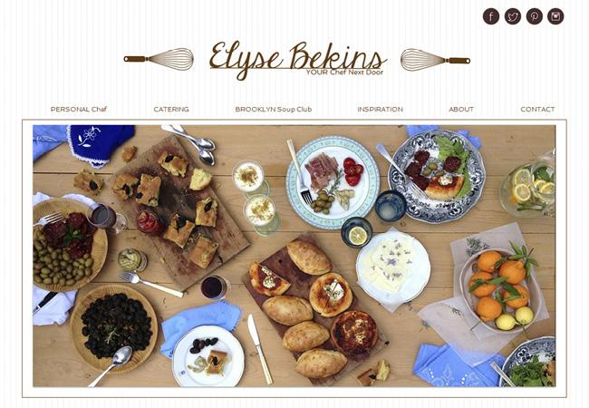 Elyse Bekins Wix Website designed by Karen Lerman