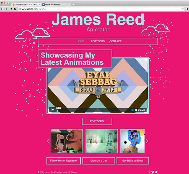 Animator Website
