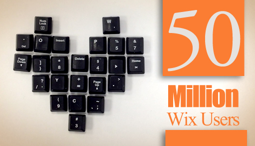 Flaunting 50M Users with 50 Kick-Ass Wix Sites!