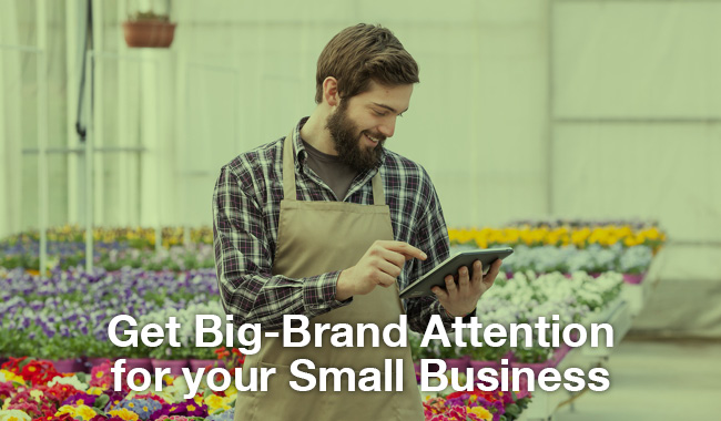 How to Get Big-Brand Attention for your Small Business