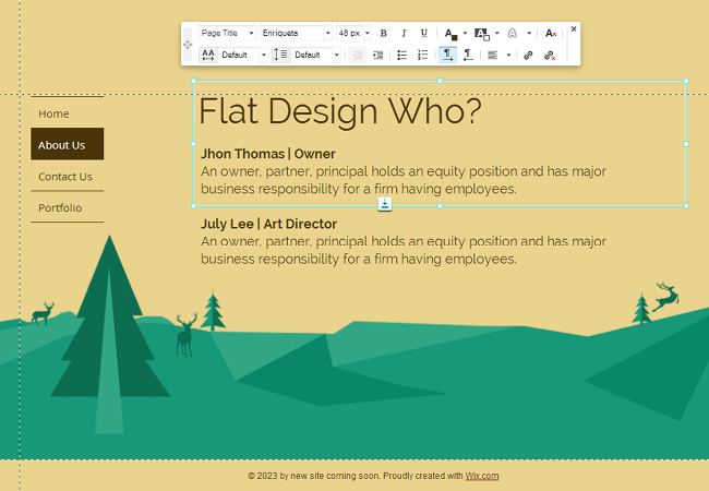 how to incorporate flat design9
