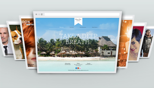 Own It - Island Hotel Wix Template