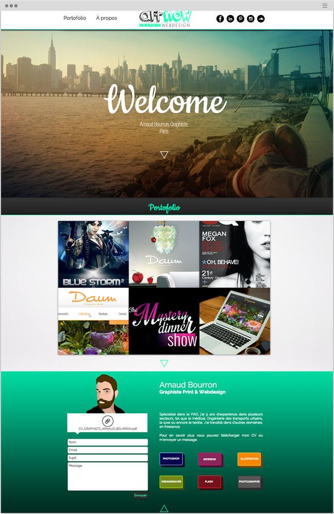 wix website - 3