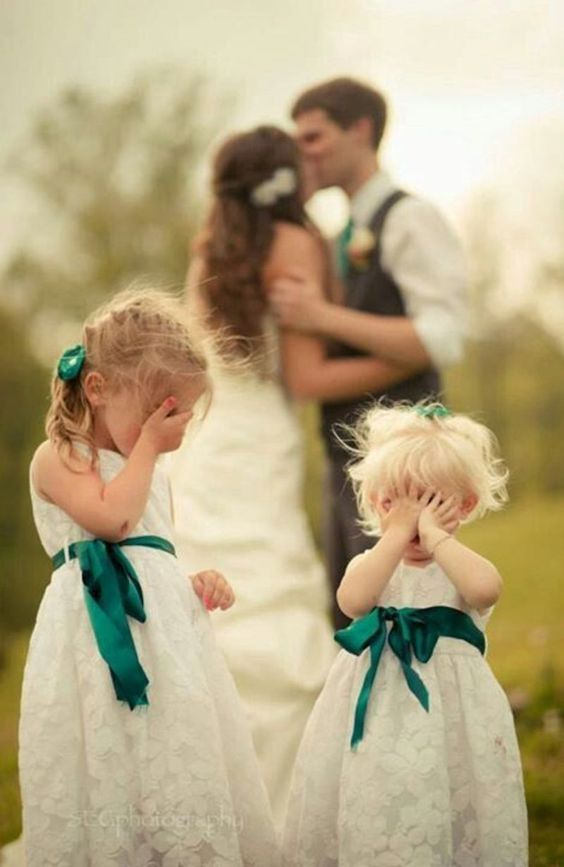 Wedding Photography with Flower Girls