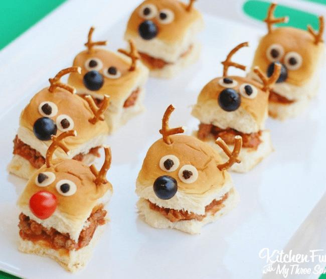 Christmas-Reindeer-Sloppy-Joes-Sliders