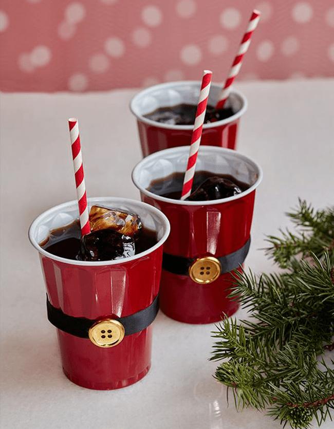 santa cups