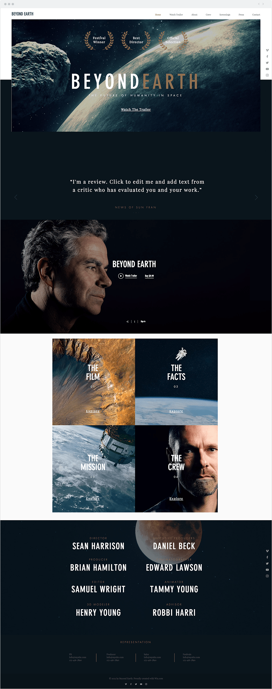 Para Películas - Beyond Earth