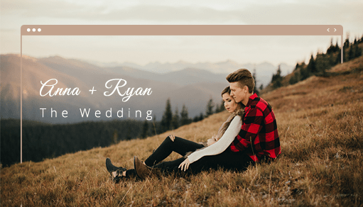 Wedding Websites Ideas: Gorgeous Wedding Websites You'll Want To Copy